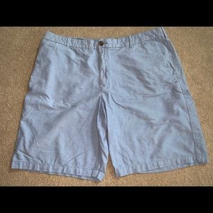 "Izod 40"" Shorts 100% Cotton Blue 10"" Inseam"